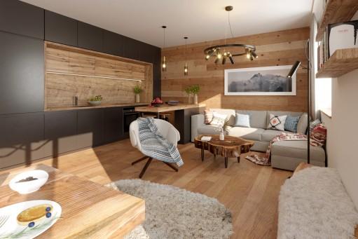Bytové apartmány Riverside Vrchlabí - 4+kk