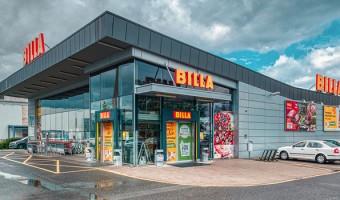 <p>Supermarket</p> <p><strong>Billa</strong></p>